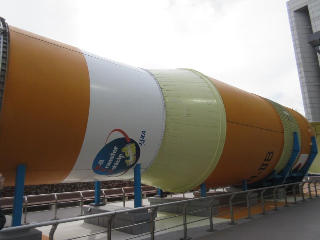 ロケットの模型