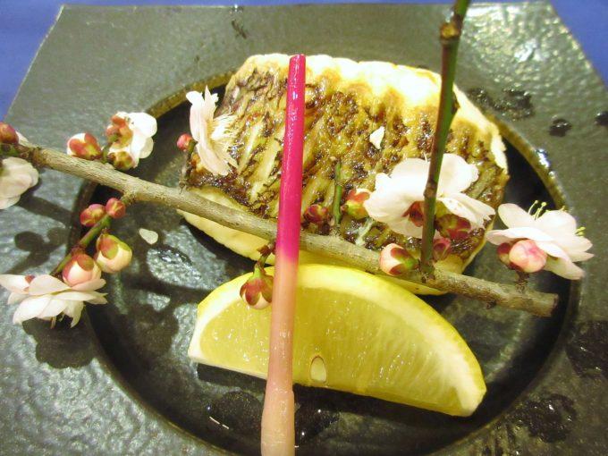 焼き金目鯛