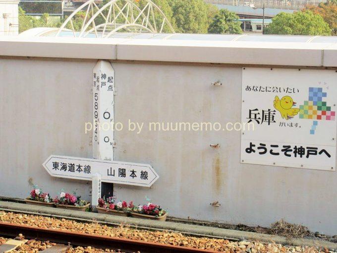 東海道本線と山陽本線の境目