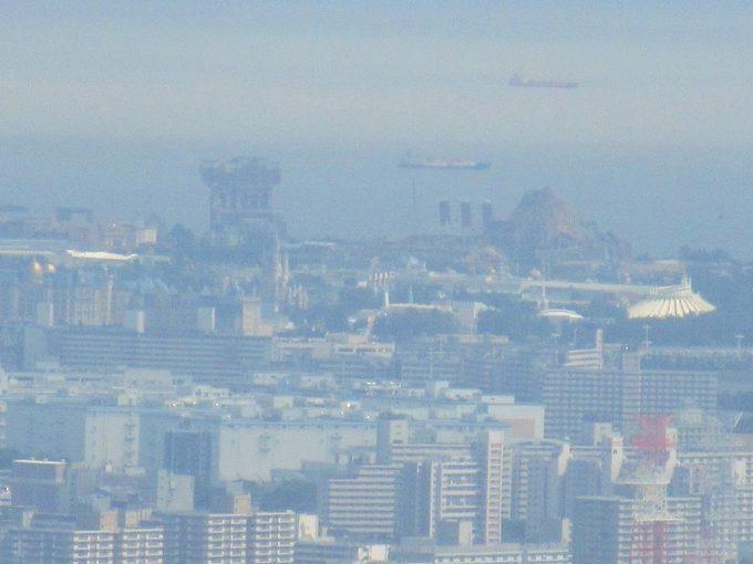 東京スカイツリーから見たディズニーランド