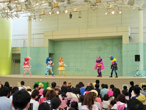 京都競馬場のプリキュアショー