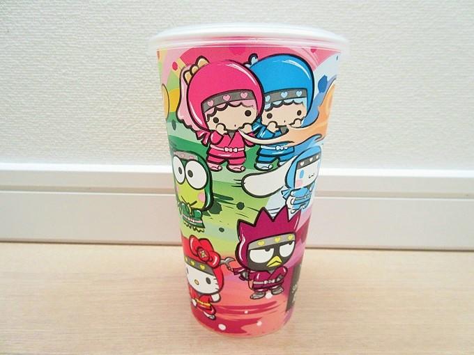 サンリオキャラクターズ忍宴乱舞のカップ
