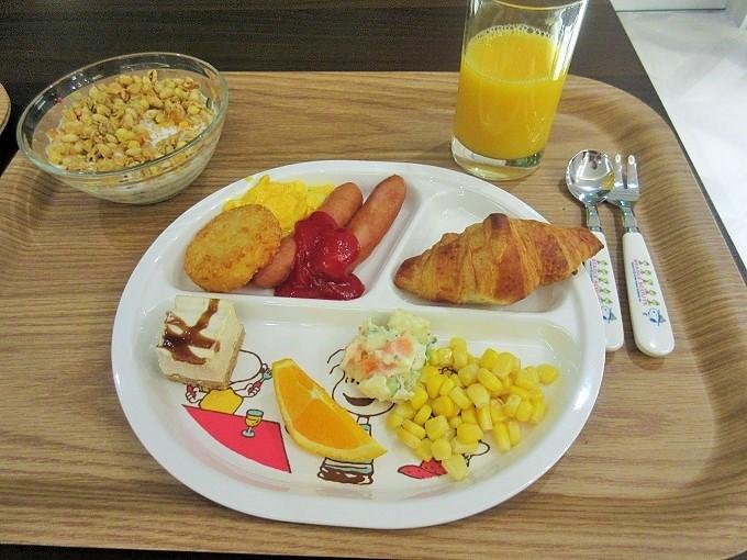 ホテルアベストグランデ岡山の朝食メニュー