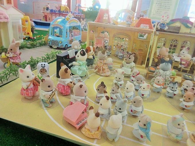 おもちゃ王国のシルバニアファミリー